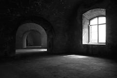 intorno alla luce - around the light (francesco melchionda) Tags: prevlaka blackwhite abandoned urbex urbanexploration ruins explore decay decadence fortress shadows light opposite