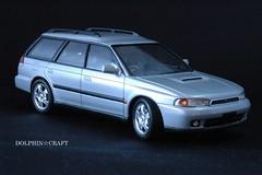 SUBARU LEGACY 4 (DOLPHIN☆CRAFT) Tags: legacy subaru wagon turbo プラモデル レガシィ gt gt ワゴン ターボ
