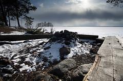 Joensuu - Finland (Sami Niemeläinen (instagram: santtujns)) Tags: joensuu suomi finland pyhäselkä kuhasalo lake järvi frozen jää ice lumi snow maisema landscape luonto nature beach ranta