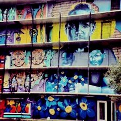 NOLA  GOVERNMENT HOUSING PROJECT (pamelagilpin19811) Tags: photograph urban nola louisiana neworleans building dilapitated governmenthousing art graffiti artistic city streetarts