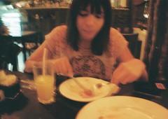 (iamtheatombomb) Tags: friends food film girl youth bar night dinner 35mm kodak ishootfilm pizza nightlife analogue kodakfilm filmphotography myeverydaylife