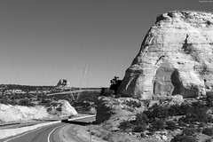 "Huge rock formation above highway • <a style=""font-size:0.8em;"" href=""http://www.flickr.com/photos/34843984@N07/14926515353/"" target=""_blank"">View on Flickr</a>"