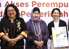Nina Sardjunani, Dewi Motik, Kristen F. Bauer