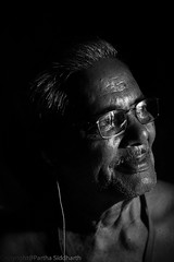 Old Glow (ysoseriuos) Tags: life light portrait india glow streetphotography oldman portraiture oldage enlightened sense amatuer 50mm18 villagelife colorsoflife lowlightphotography halflighted journeyoflife lifeinindia powerfulportrait canon550d