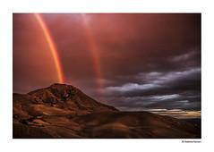 I miei Paesaggi (Federica Furneri) Tags: verde landscape tramonto natura campagna giallo colori pioggia arcobaleno paesaggi amore animali pecore mucche corvi casteldiiudica ramacca