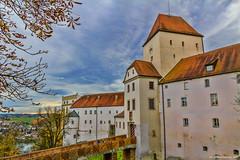 Passau (NinjaAndi) Tags: autumn canon river germany bayern deutschland bavaria inn herbst passau donau ilz flus tamron18270 eos550d