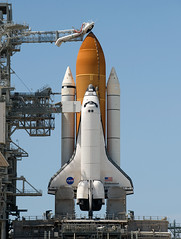 Space Shuttle Endeavour on Pad 39a (i-Tours) Tags: usa florida fl capecanaveral endeavour pad39a sts127