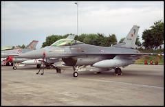 94-0087 - Leeuwarden (LWR) 07.07.2001 (Jakob_DK) Tags: 2001 f16 leeuwarden lwr generaldynamics fightingfalcon turkishairforce f16c ehlw