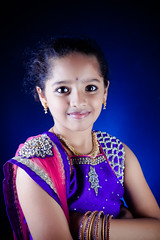 Day 308/365 (Jay Venkat) Tags: birthday blue portrait rose kids children celebration srishti shruthi