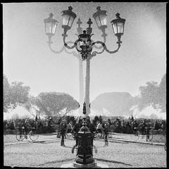 All roads lead to Rome series (Nick Kenrick..) Tags: rome italy salvador84lens us1776film streetphotography caffedelpincio