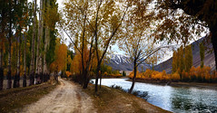 The Great Impresssionists (NotMicroButSoft (Fallen in Love with Ghizar, GB)) Tags: autumn water river lakes ghizar phandar gupis khalti gilgitbaltistan
