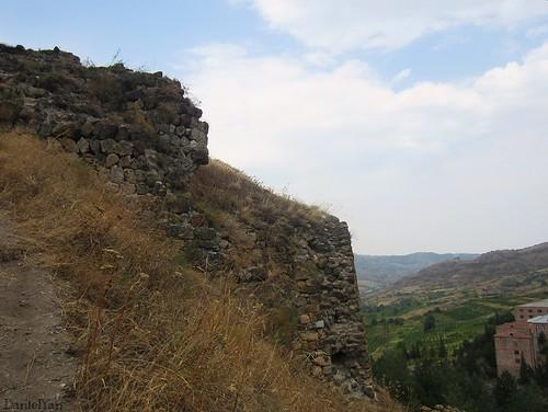 Tavush fortress . Berd, Tavush, Armenia.