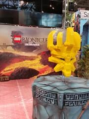 Lego Bionicle #NYCC #NYCC14 (IdleHandsBlog) Tags: nycc nycc14