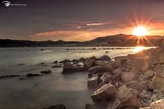 Sun Rays (www.daniferrara.es) Tags: sunset seascape sol beach water landscape atardecer mar agua long exposure pentax playa paisaje reverse hitech algeciras exposicion density haida larga nd6 neutral filtro degradado tamron1735 neutra densidad nd64 nd8 parquecentenario nd1000 nd10 danigonzalez k5iis