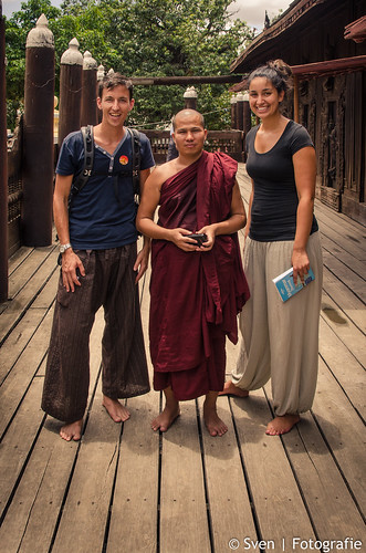 Mandalay monk