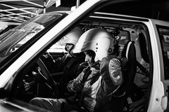 Atmospheres in the night #2 (Francesco Presepi) Tags: people car 35mm blackwhite nikon rally persone legend atmosfera biancoenero 2014 d700
