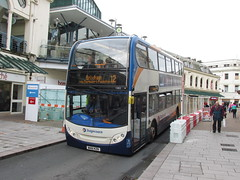 The Daily Grind (aecregent) Tags: 12 torquay scania 15802 enviro400 fleetwalk n230ud 181014 stagecoachsouthwest wa61kzn