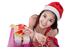 Beautiful Asia woman wear Santa Clause costume (anekphoto) Tags: santa christmas new xmas pink winter red party portrait people white girl smile lady female shopping bag advertising asian happy person costume women asia hand box background year ad young excited advertisement celebration gift giving thai surprise present merry claus gesture showing celebrate isolated 2016 2015 thailad 2017