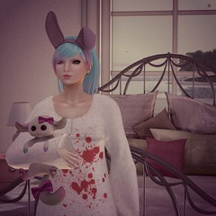 Sweet Baby (Gidge Uriza) Tags: pink arcade secondlife fuel dontpanic