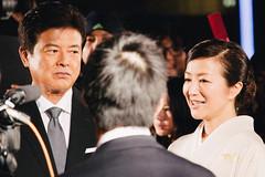 27th Tokyo International Film Festival: Miura Tomokazu & Suzuki Kyoka from Until The Day Comes