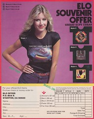 ELO T-Shirt offer (nick99nack) Tags: vintage ads 70s elo advertisements electriclightorchestra