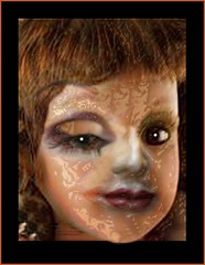 The Child Creature 2 (Joe Vance aka oliver.odd - running in Safe Mode) Tags: abstract colour design rust doll paint faces human openroad clone ideas scrap zoned stickybeak hypotheticalawards childcreature