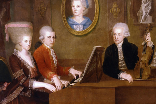 The composer's letters to his father give a lively record of 18th-century life and his own energetic personality.