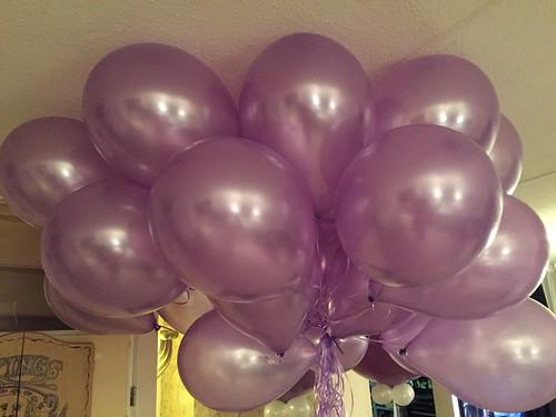 Heliumballonnen Lila Metallic