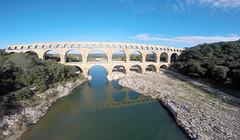 architecture bridges pontdugard aerialphotography languedoc drone gopro quadcopter qav400