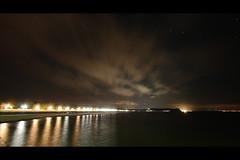 * (Henrik ohne d) Tags: ocean beach clouds lights pier jetty balticsea esplanade boardwalk rgen seebrcke efs1022mm ghren landingpier eos400d september2014 starsvshotpixel