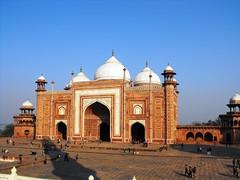 Agra, Taj Mahal Entrance, January 2012