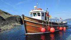 Iolaire of Iona (gavmroberts1984) Tags: trip scotland boat mull staffa