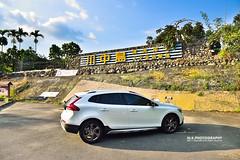 V40CC@ (M.K. Design) Tags: cars landscape volvo nikon scenery offroad sweden cam taiwan automotive    puli   2014  nantou     gopro  hero3   afs2470mm28g d800e v40crosscountry