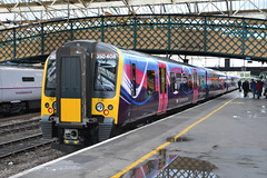 First Transpennine Express Desiro 350408 (Will Swain) Tags: west station train coast october main north 4th first trains class line 350 express carlisle transpennine 2014 mainline desiro 350408