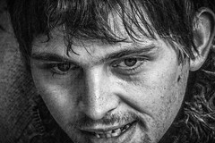Street face (pootlepod) Tags: street portrait blackandwhite monochrome closeup youth photography desperate begging begger vagrant wanting needy pleading streetface desperateness stphotographia