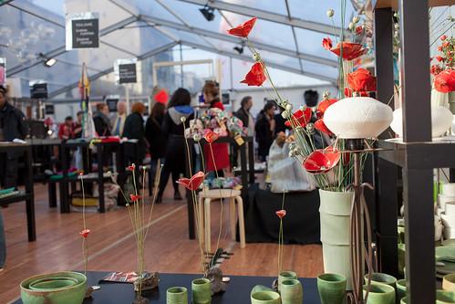 Foire des Savoir-Faire Solidaires 2013, découvrir les talent des artisans créateurs du territoire © M. RONDEL
