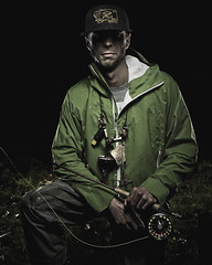 _JTP3059 (Jeremy Thurston) Tags: fish get wet water outside outdoors fly fisherman nikon some gritty dirty sharp burn dodge 28 nikkor grungy sb800 1735 beautydish d7000 hyalife