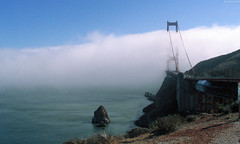 "Golden Gate Bridge within fog • <a style=""font-size:0.8em;"" href=""http://www.flickr.com/photos/34843984@N07/15546454495/"" target=""_blank"">View on Flickr</a>"