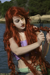 The Little Mermaid (Juliet Garca Photography) Tags: red ariel beautiful fairytale hair de little cuento disney wig mermaid tale sirenita sirena hadas the
