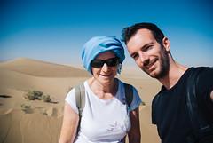 Garmeh (cranjam) Tags: me luca sand desert iran dunes middleeast persia mum mamma angela deserto selfie garmeh varzaneh vsco movingdunes varzanehdesert