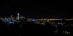 Seattle Skyline (Mahin Rony) Tags: seattle park light usa night photography golden harbor washington photographer view space kerry mount needle rainier bangladesh gol nigh skyscrapper washi gopro