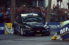 5 FORD Fiesta RS WRC - Hirvonen , Lehtinen . WRC Rally RACC Spain 2014 _1076 (antarc foto) Tags: world barcelona espaa costa ford race championship spain fiesta 5 rally catalonia racing wrc motor catalunya races rs espagne tarragona rallye mikko motorsport montjuc daurada 2014 catalogne jarmo wrt msport lehtinen racc hirvonen ralli 50