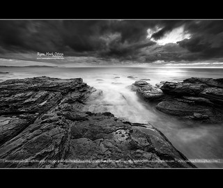 B&W Challenge - Storm Clouds