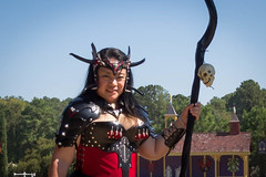 (Tygriss) Tags: trf barbarian halloweenweekend texasrenaissancefestival texrenfest leathercorset castlekzar