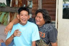 happy drinkers (the foreign photographer - ) Tags: two men portraits thailand happy nikon bangkok drinkers khlong bangkhen thanon d3200 oct112014nikon
