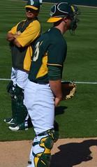 ChrisGimenez adjustment (jkstrapme 2) Tags: jockstrap hot male cup jock baseball crotch catcher athlete grab adjustment bulge adjust