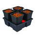 4 pot square small 11L © Nutriculture