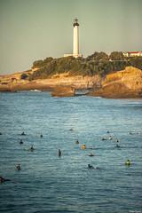 Biarritz. (Jérôme Cousin) Tags: ocean light sea mer lighthouse house france nikon sigma 64 28 pays basque phare 70200 biarritz pyrenees bab euskal herria atlantiques herri btz d700 auskadi