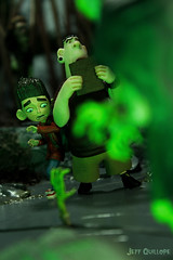 Don't read from the book... (Toy Photography Addict) Tags: laika actionfigures diorama toyphotography toydiorama paranorman clarkent78 paranormandiorama paranormantoys toyhalloween2014