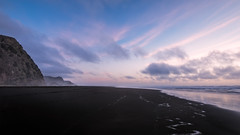 Slipping Through Time (Nick Twyford) Tags: sunset newzealand seascape clouds blacksand waves auckland nz northisland westcoast lastlight karekare colourimage dreamylandscape leefilters nikond800 lee06gndsoft nikkor160350mmf40 solmetageotaggerpro2